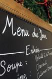 Dish of the day blackboard