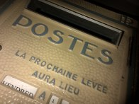 Our French postbox